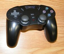 Genuine Predator Black Wireless Controller Only For PlayStation PS2 **READ**