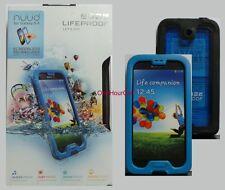 Lifeproof Nuud Waterproof Case for Samsung Galaxy S4 1801-04 Cyan/Black