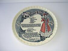 """Miss Mary'S Red Velvet Cake Vintage Platter Tray Plate 1983 Vgc 11 1/2"""""""