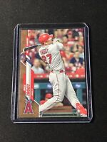 2020 Topps Update Mike Trout Gold Parallel #U-292  Los Angeles Angels 🔥