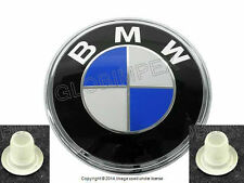 BMW E28 E30 Z3 Emblem BMW Roundel for Trunk Lid + Grommets GENUINE