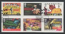 GB 2008 Posters For Carry On and Hammer Horror fine used set stamps on Piece