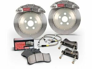 For 2011-2017 BMW X3 Brake Pad and Rotor Kit Front and Rear Centric 12874PW 2012