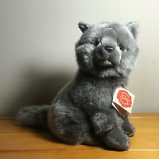 Herman Teddy Collection Carthusian Chartreux Grey Cat Plush 9� New w/ Tags