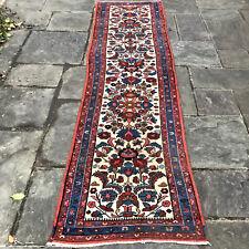 "2'7"" x 9'7"" High Quality Antique Bakhtiari Veggie Dye Wool Runner Rug"