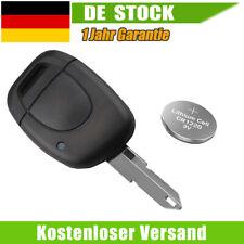 Auto Schlüssel Gehäuse für Renault Kangoo Clio Twingo 1220 + Batterie