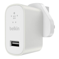Belkin mixit 2.4 amp Universal Home Charger. iPhone, Samsung, Android - Silver
