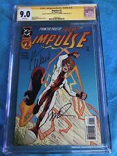 Impulse #1 - DC - CGC SS 9.0 - Signed by Mark Waid, Humberto Ramos