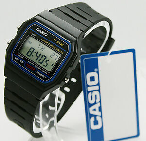 ✅ Casio Collection Unisex-Armbanduhr F-91W-1YER ✅