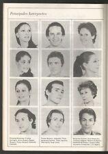 Programme Colon Theater Opera Ballet Cheryl Yeager Julio Bocca 1988