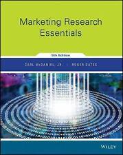 Marketing Research Essentials by Roger Gates and Carl McDaniel Jr Ninth edition