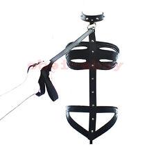 Lencería Clubwear PVC Negro Bondage Fetiche Disfraz Traje Bondage Cinturón