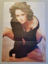 Autograph - Anna Friel actress - live ink on magazine cutting