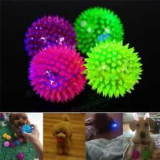 "8PCS Light-Up Spiky LED Ball Dog Cat Flashing Sensory Fun Blinking Toy 2.5 """