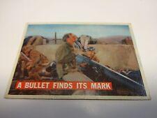 1956 Davy Crockett A Bullet Find Its Mark Card #76