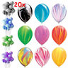 "20x12"" Marble Agate Latex Balloons Birthday Party Babyshow Decoration Tie-Dye"
