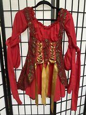 Leg Avenue Women's Vixen Pirate Wench Corset Dress HALLOWEEN Costume