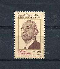 TURCHIA-TURKEY 1984 Centenario nascita di Inonu 2453  MNH