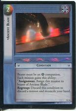 Lord Of The Rings Foil CCG Card RotK 7.U15 Ancient Blade