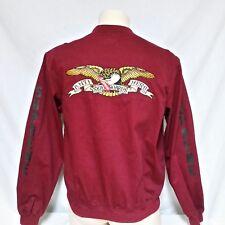 Supreme Antihero Bomber Jacket Coat Skateboard Box Logo Button Up Pope Eagle XL