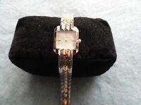 Pretty Ladies Gold and Silver Elgin Quartz Watch