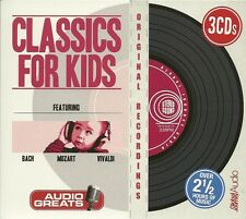 CLASSICS FOR KIDS - 3 CD BOX SET - BACH * MOZART & VIVALDI
