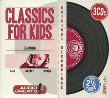 CLASSICS FOR KIDS - 3 CD BOX SET - BACH * MOZART & VIVALDI