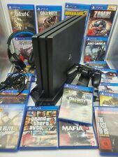 PlayStation 4 PRO·PS4 Pro·1TB·CUH-7216B ·4K HDR|MEGAPACK|20 Spiele|Zubehörpaket