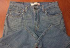 Levis 569 Loose Straight Fit Blue Wash Denim Jeans 33x30