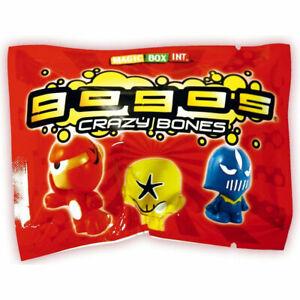 Gogo's Crazy Bones - Series 1 - BLIND BAG (3 Random Gogos & 3 Stickers) - New