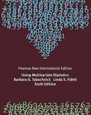 Using Multivariate Statistics by Barbara G. Tabachnick, Linda S. Fidell (Paperba