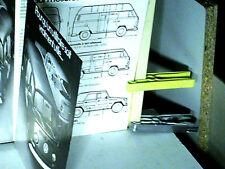 FAC SIMILE  1994  PROSPECTUS VOLKSWAGEN 1970 GAMME WV COMBI T2/VW 181