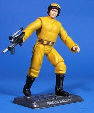 STAR WARS SAGA TPM LOOSE NABOO SOLDIER IN MINT CONDITION. C-10+