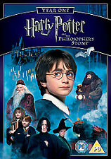 HARRY POTTER AND THE PHILOSOPERS STONE YEAR 1 DVD Brand New and Sealed UK