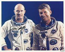 TOM STAFFORD SIGNED 8x10 GEMINI 6 PHOTO - NASA ASTRONAUT - UACC RD AUTOGRAPH