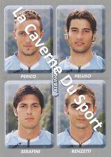 N°484 PERICO - PELUSO # ITALIA UC.ALBINOLEFFE STICKER PANINI CALCIATORI 2009