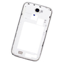 White Part Back Frame chassis Housing cover for Samsung Galaxy Note 2 II N7100