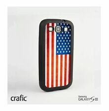 Vintage American Flag Case Samsung i9300 Galaxy S3 III
