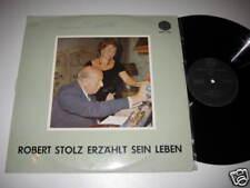 LP/ROBERT STOLZ ERZÄHLT SEIN LEBEN/+ AUTOGRAMM/SIGNIERT