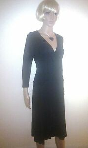 BODEN Black Evening Dress. Formal, Cocktail Party Occasion Stretchy SIZE 12 - 14