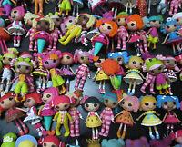 LOT OF 8 Mini Lalaloopsy Doll FIGURES by random #dg4