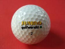 Pelota de golf con logotipo jumbo golfwereld/NL golf bola logotipo como amuleto de regalo