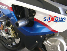 BMW 2010-2011 S1000RR Shogun Racing Frame Sliders - No Cut Version Black