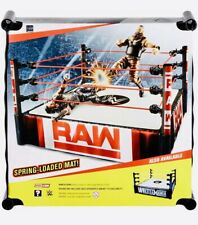 WWE Raw Ring Superstar Spring-loaded Mat