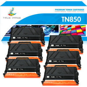6PK Toner Compatible for Brother TN850 TN-850 HL-L6200DW MFC-L5800DW DCP-L5500DN