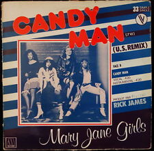 *** MAXI 33T / MARY JANE GIRLS - CANDY MAN - *MOTOWN RECORDS PRESSAGE FRANCE ***