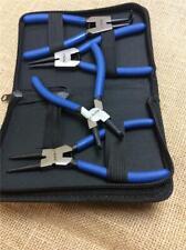 Jeu Lot B08702 Circlip Pince Set in zippée Nylon Case Interne /& Externe