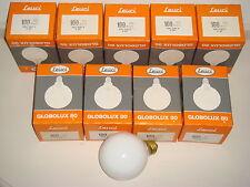 Ampoule globe 80mm blanc opal ORBITEC LEUCI GIRARD-SUDRON E27 100W 230V NEUVE