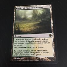 MTG MAGIC SCARS OF MIRRODIN RAZORVERGE THICKET FRENCH HALLIERS L'OREE RASOIRS NM