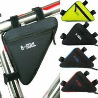 Frame Bike Storage Bag Top Tube Cycling Under Seat Bicycle Triangle Saddle Pouch